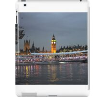 High tide on the Thames iPad Case/Skin