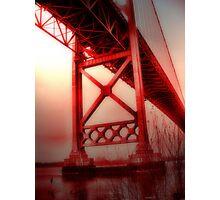 bridge to oblivion Photographic Print