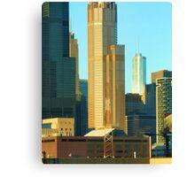 Chicago sky scrapers Canvas Print