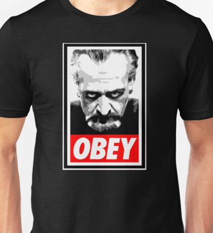 Obey Your Master! Unisex T-Shirt