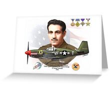 Capt. Dominic S. 'Don' Gentile Greeting Card