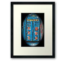 Impression of The TARDIS  h Framed Print
