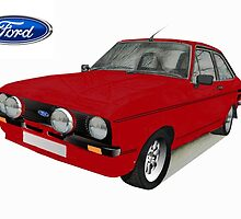 Ford Escort Sport by BSIllustration