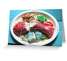 Con-tem-plate Greeting Card