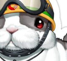 Rescue Rabbit Shirt Sticker
