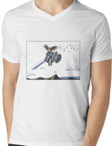 The Pursuer Mens V-Neck T-Shirt