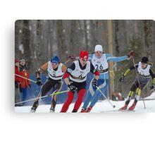 Ski Race 2 Canvas Print