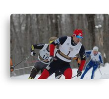 Ski Race 3 Canvas Print