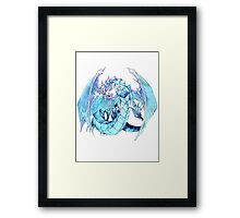 Brionac, Dragon of the Ice Barrier Framed Print
