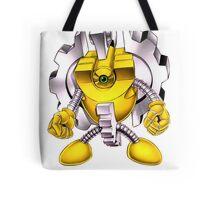 Yellow Gadget Shirt Tote Bag
