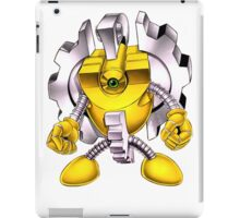 Yellow Gadget Shirt iPad Case/Skin