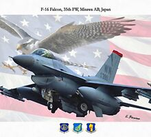 F-16 Fighting Falcon by A. Hermann