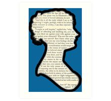 Jane Austen - Pride and Prejudice Art Print