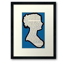 Jane Austen - Pride and Prejudice Framed Print