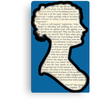 Jane Austen - Pride and Prejudice Canvas Print