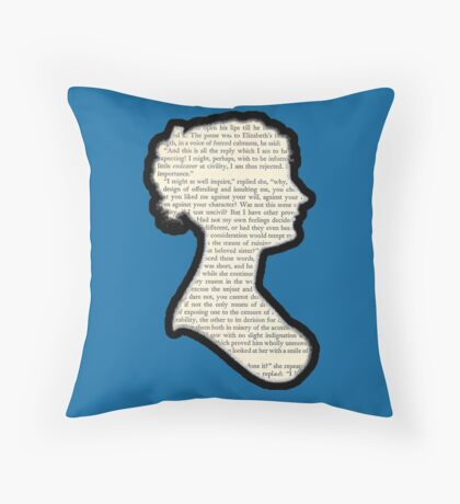 Jane Austen - Pride and Prejudice Throw Pillow