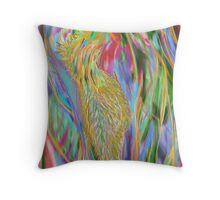 beautiful coloured Throw Pillow