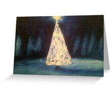 Silent Night, by James Patrick Greeting Card