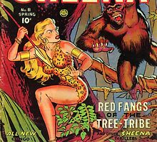 Sheena and the Tree People by Vintagee