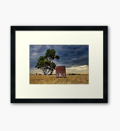 """Storm Over Charlemont"" Framed Print"