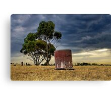 """Storm Over Charlemont"" Canvas Print"