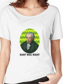 Kant Women's Relaxed Fit T-Shirt