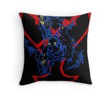 Kingdom Hearts v3 Throw Pillow
