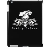Baker Skull and Crossed Rolling Pins: Baking Badass 1 iPad Case/Skin