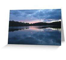 Clyde River at Dusk Greeting Card
