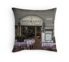 Italian Ristorante Throw Pillow
