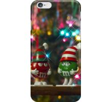 Mr. Red & Mrs. Green M&M iPhone Case/Skin