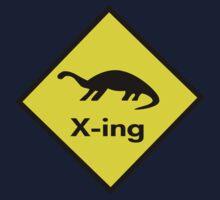 Dinosaur Crossing by Ryan Houston