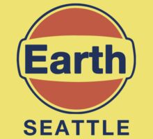 Earth Seattle Grunge Band Gulf Logo Kids Clothes