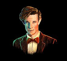 Matt Smith colour portrait by LilyKenimer
