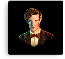 Matt Smith colour portrait Canvas Print