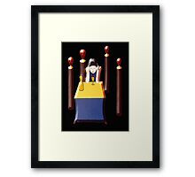 VOICES IN MY HEAD Framed Print