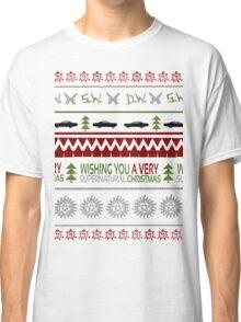 Supernatural Christmas Sweater Classic T-Shirt