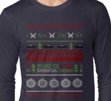 Supernatural Christmas Sweater Long Sleeve T-Shirt