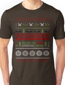 Supernatural Christmas Sweater Unisex T-Shirt
