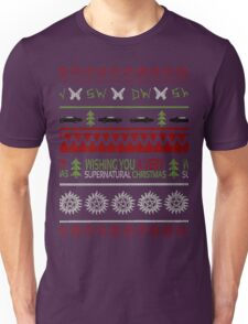 Supernatural Christmas Sweater Unisex T-Shirt