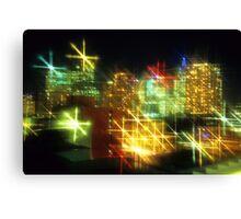 Melbourne Nightlife Canvas Print