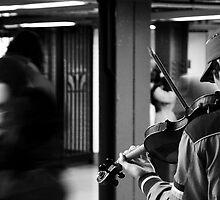 NY Fiddler by richardfrank