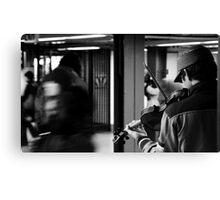 NY Fiddler Canvas Print