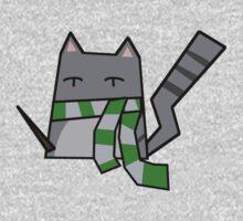 Slytherin Kitty Kids Tee
