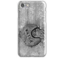 Water Water Water 2 BW iPhone Case/Skin