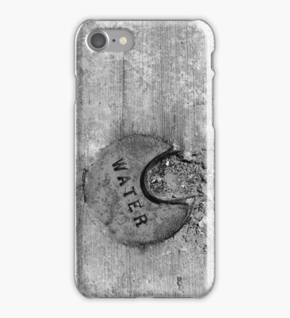 Water Water Water 2 BW iPhone Case/Skin