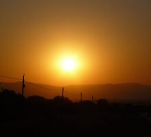 Sunset in the Magalies Burg by Norman1616