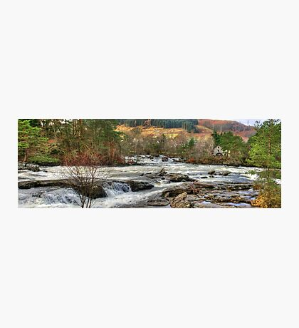Dochart Falls Panorama Photographic Print