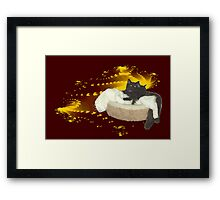 Cats in Space 4 Framed Print