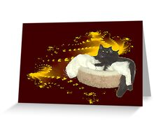 Cats in Space 4 Greeting Card